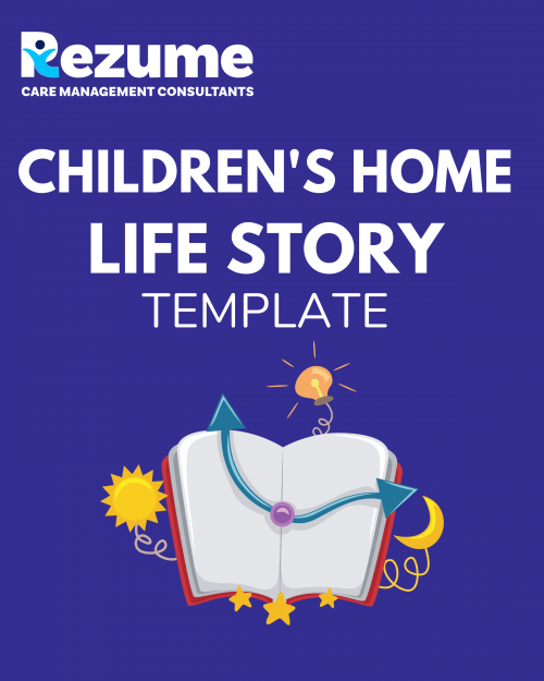 Children's Home Life Story Template