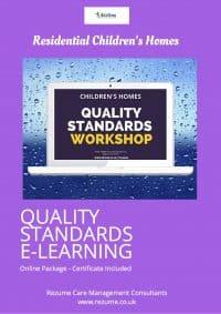 Children's Homes Quality Standards E-Learning