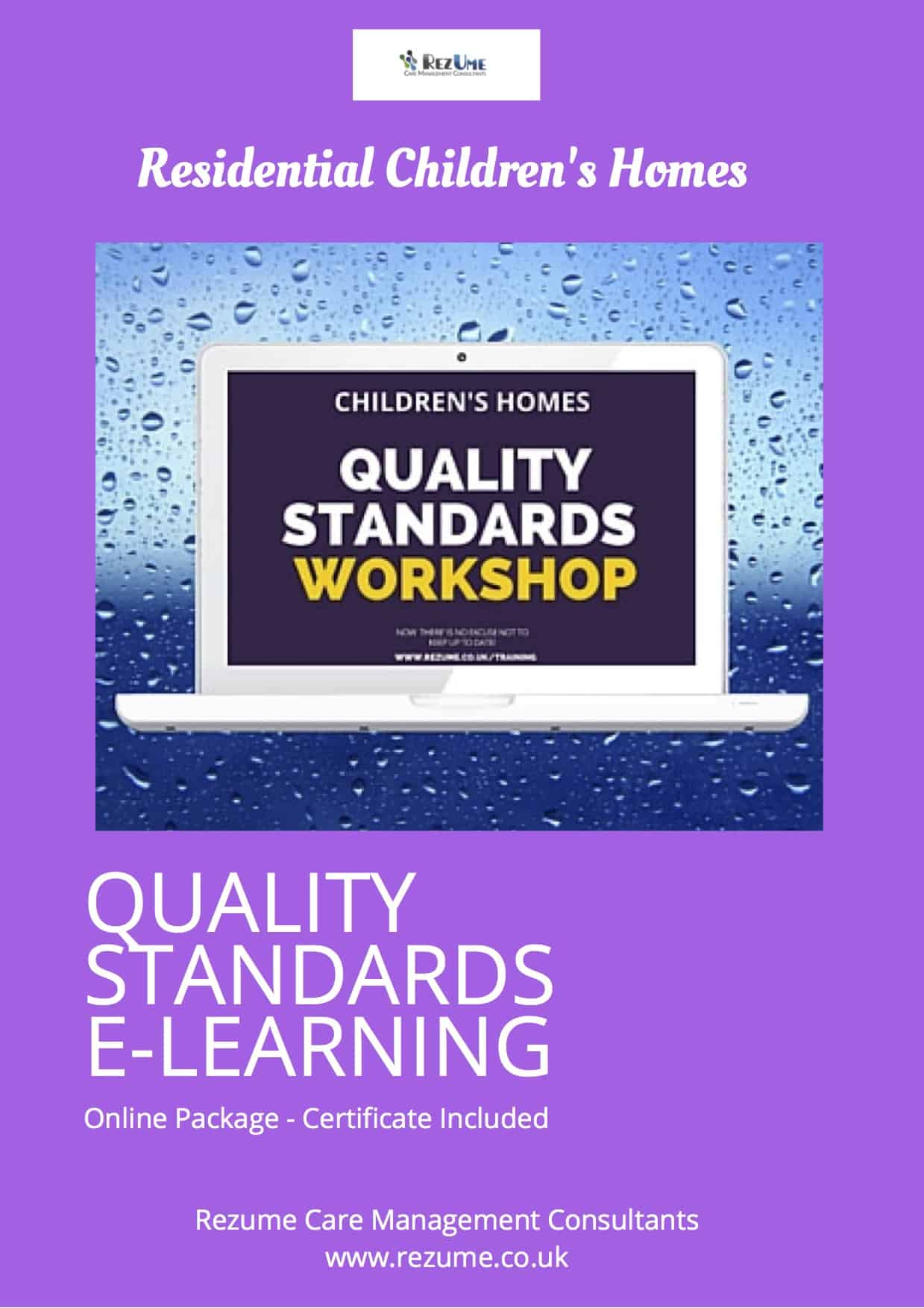 Children's Homes Quality Standards E-Learning