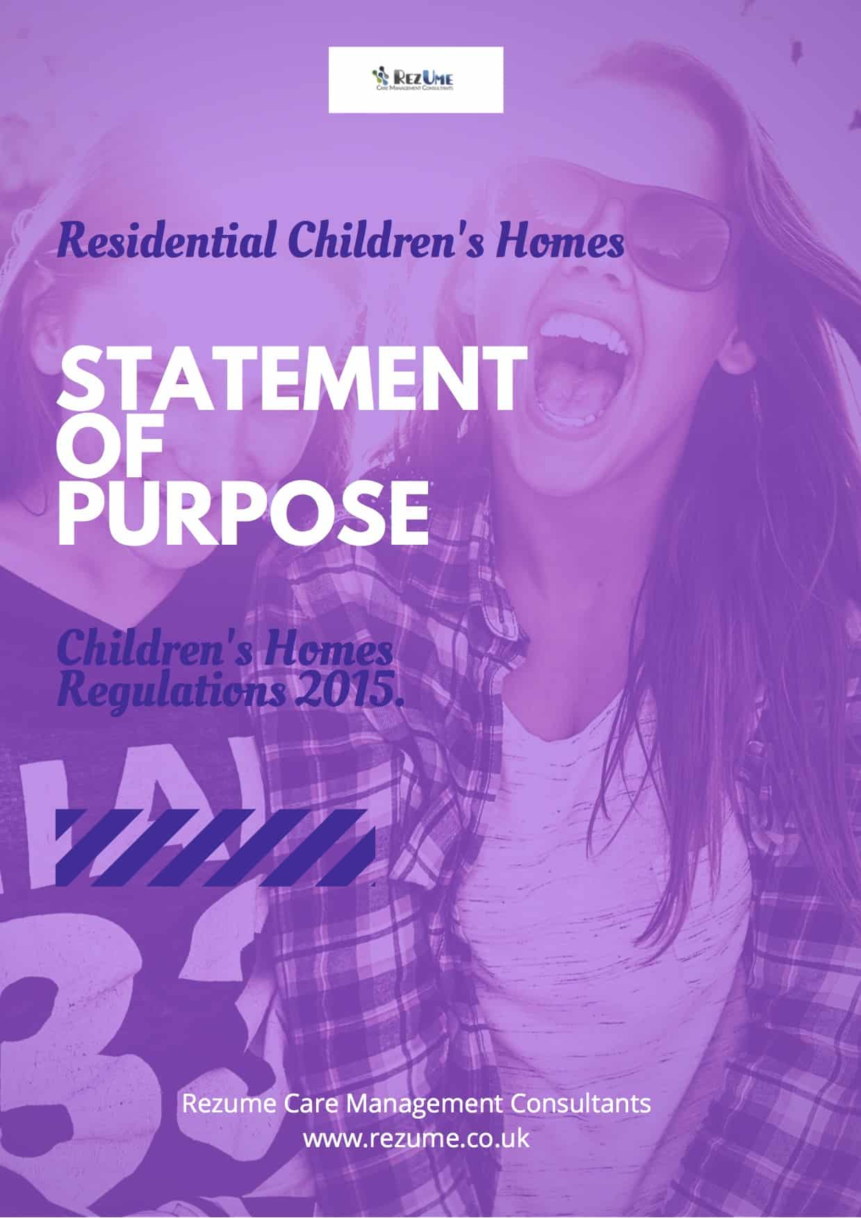 Childrens Homes Statement Of Purpose Template Rezume Care