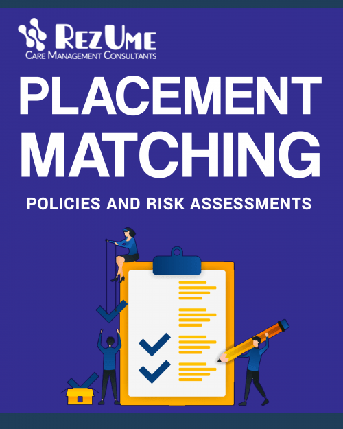 Children's home placement matching risk assessment