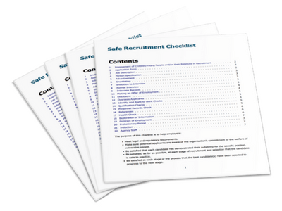 Safe Recruitment Checklist