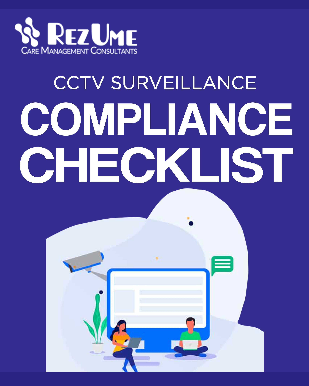 CCTV Compliance Checklist