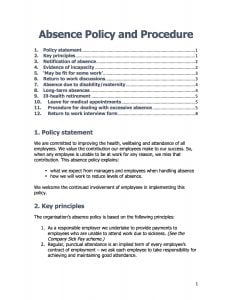 Social Care Policies and Procedures