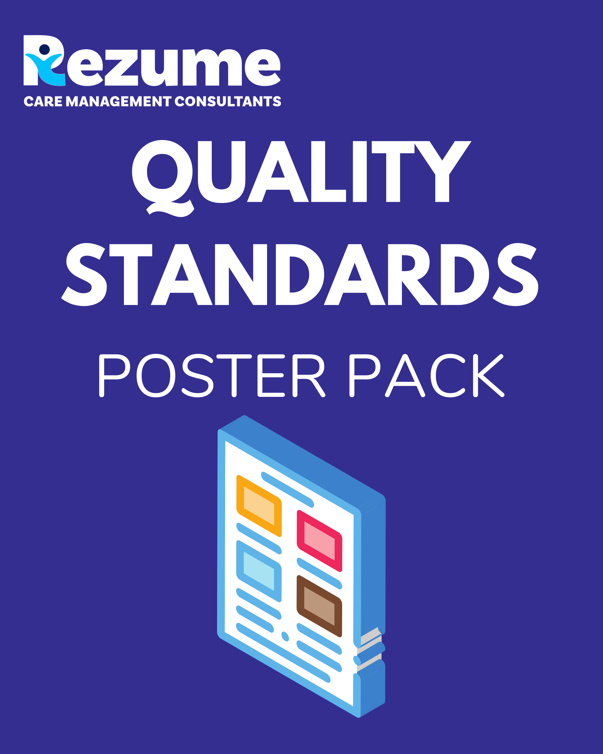 Children's home quality standards poster pack