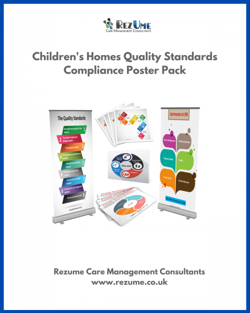 Children's homes quality standards posters
