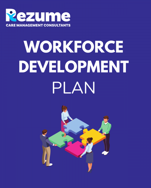 Children's home workforce development plan