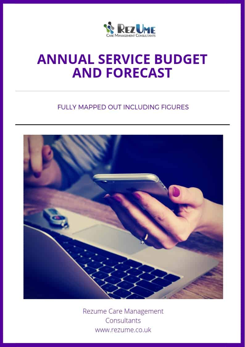 Children S Home Annual Budget Template Rezume Care Management