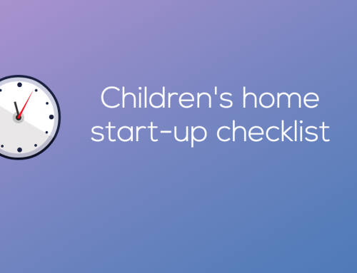 Children's home start-up checklist