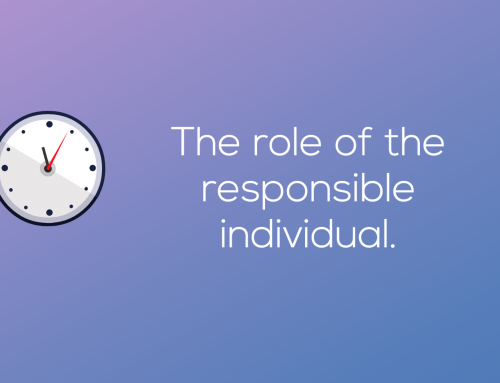 The role of the Responsible Individual