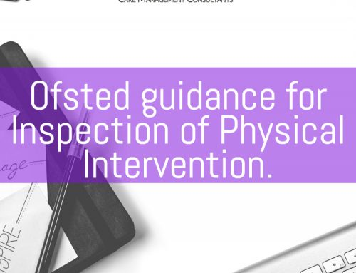 Ofsted guidance for inspection of physical intervention