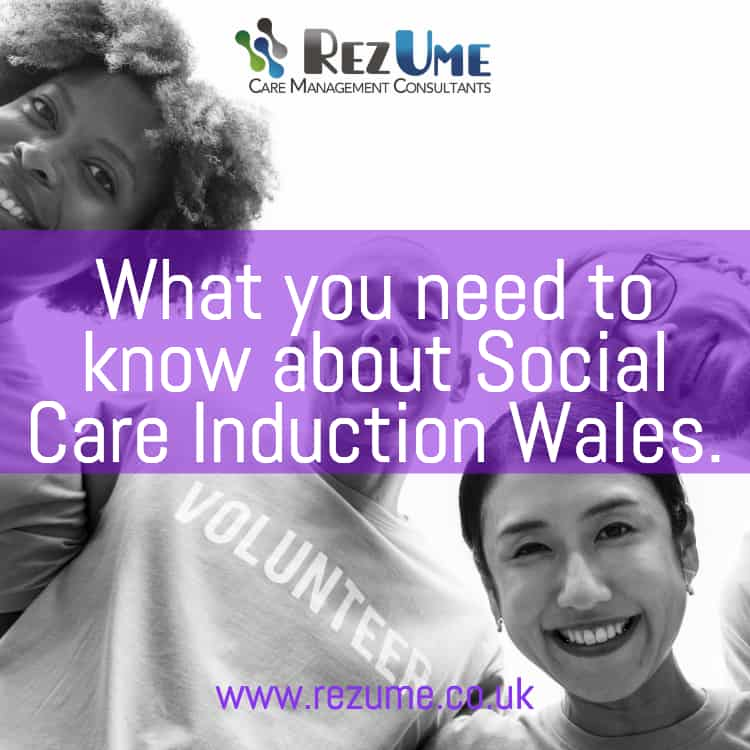 Social care induction Wales