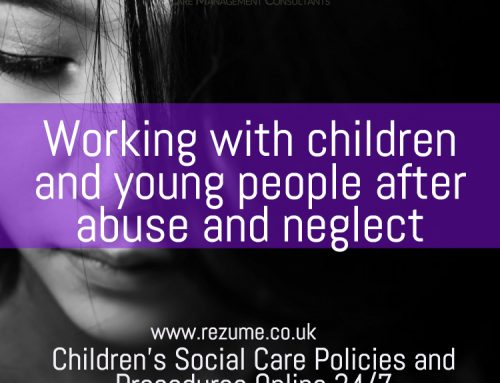 Working with children and young people after abuse and neglect