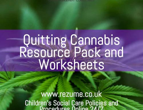Quitting Cannabis – Resource Pack and Worksheets