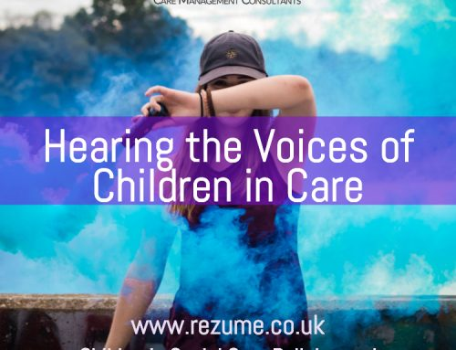 Hearing the voices of children in care
