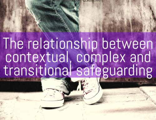 The relationship between contextual, complex and transitional safeguarding