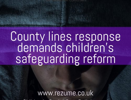 County lines response demands children's safeguarding reform