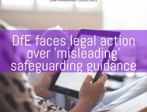 DfE faces legal action over 'misleading' safeguarding guidance