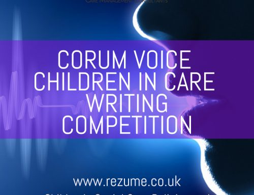 Children in care creative writing competition