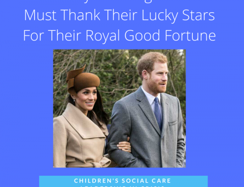 Prince Harry and Meghan Markle must thank their lucky stars for their royal good fortune