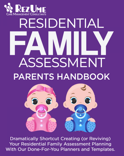 Residential Family Assessment Parent Handbook