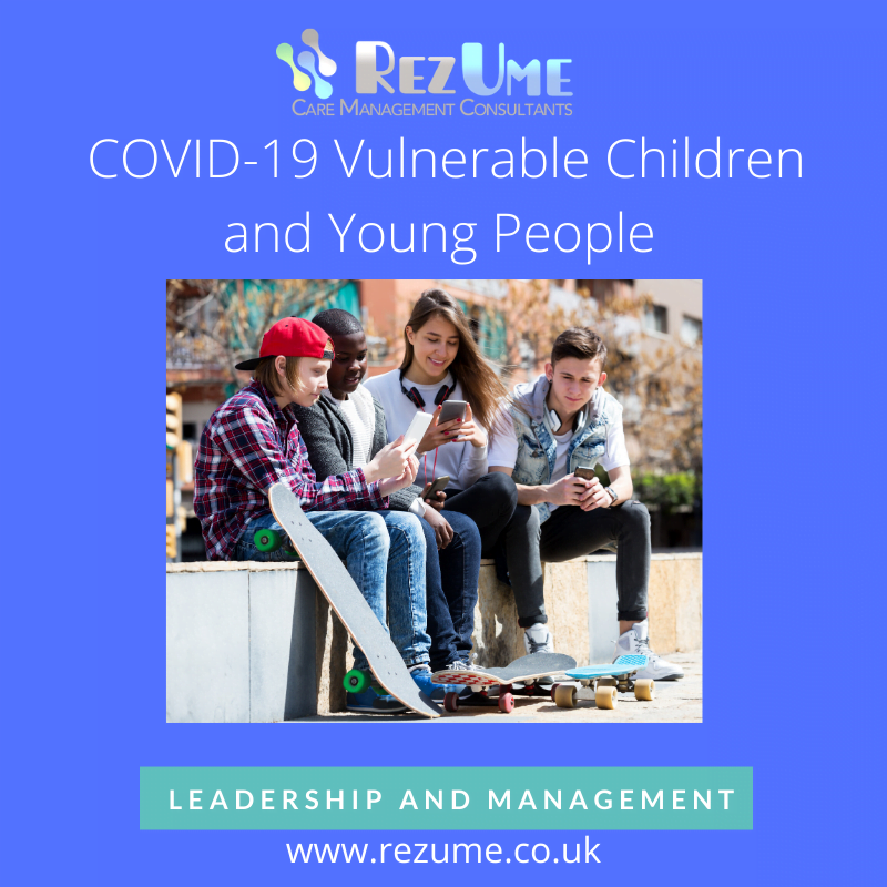 COVID-19 Vulnerable children and young people