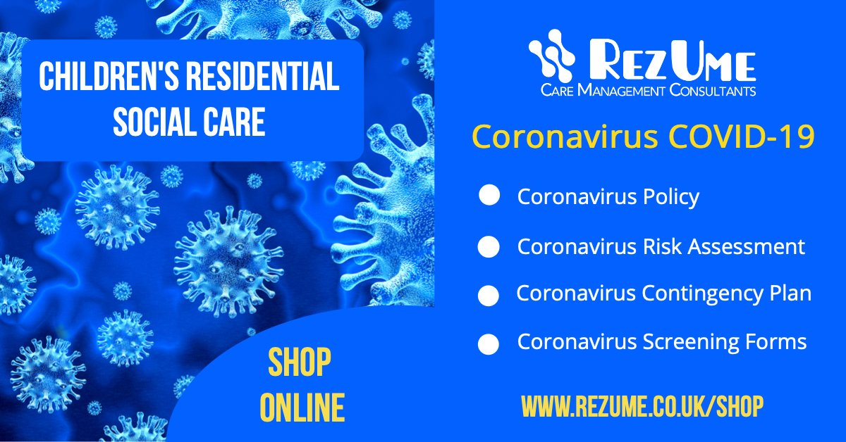 Coronavirus (COVID-19) information for Children's Residential Social Care