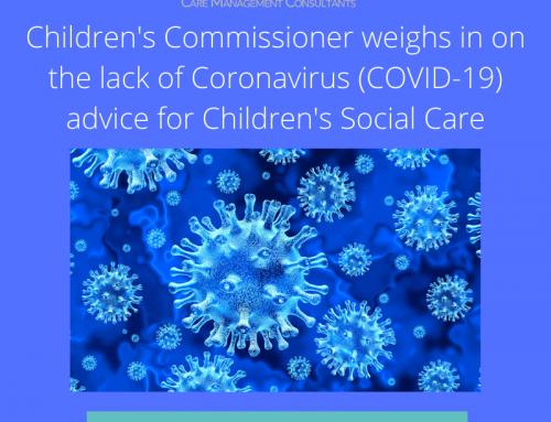 The Children's Commissioner requests Coronavirus (COVID-19) advice for Children's Social Care