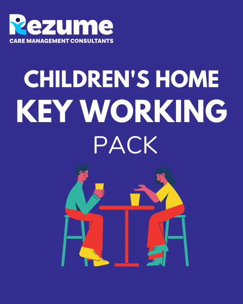 Children's Home Key Worker Pack