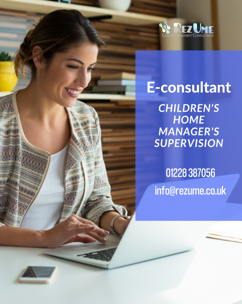 Children's home manager's supervision