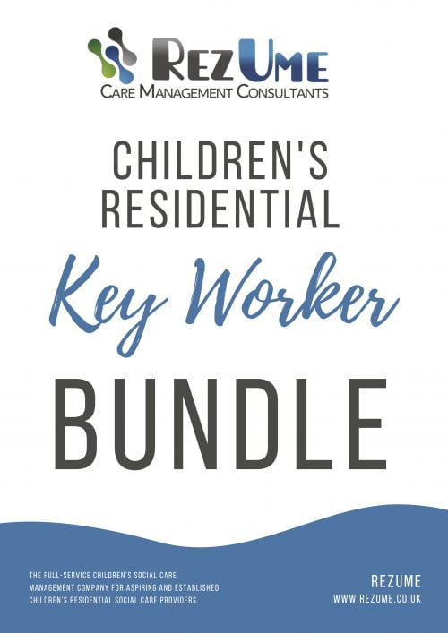 Children's residential key worker bundle