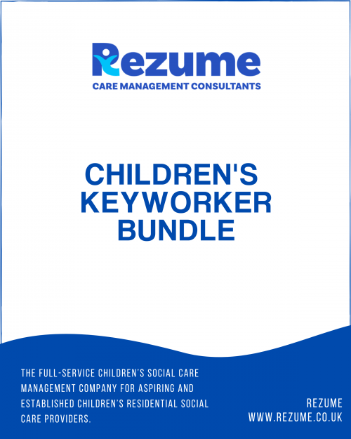 Children's Home Key Worker Templates