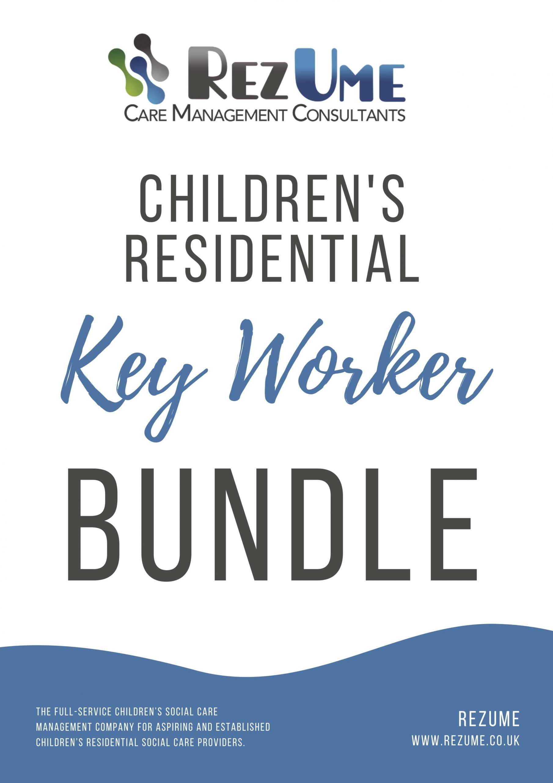 Children's residential key worker bundle