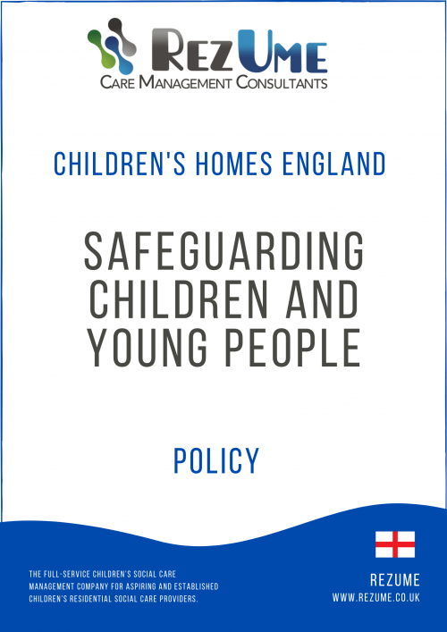 Safeguarding children and young people policy