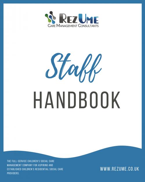 Children's Residential Care Staff Handbook