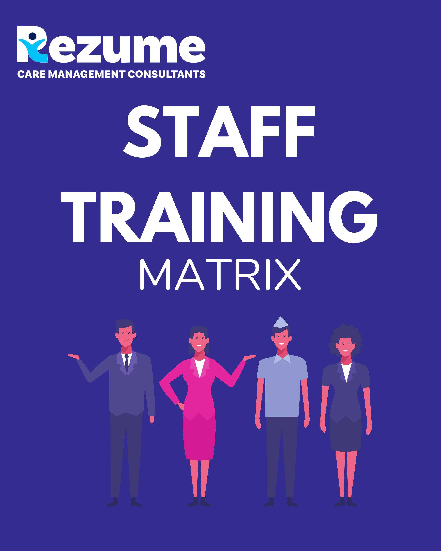Staff Training Recording Form