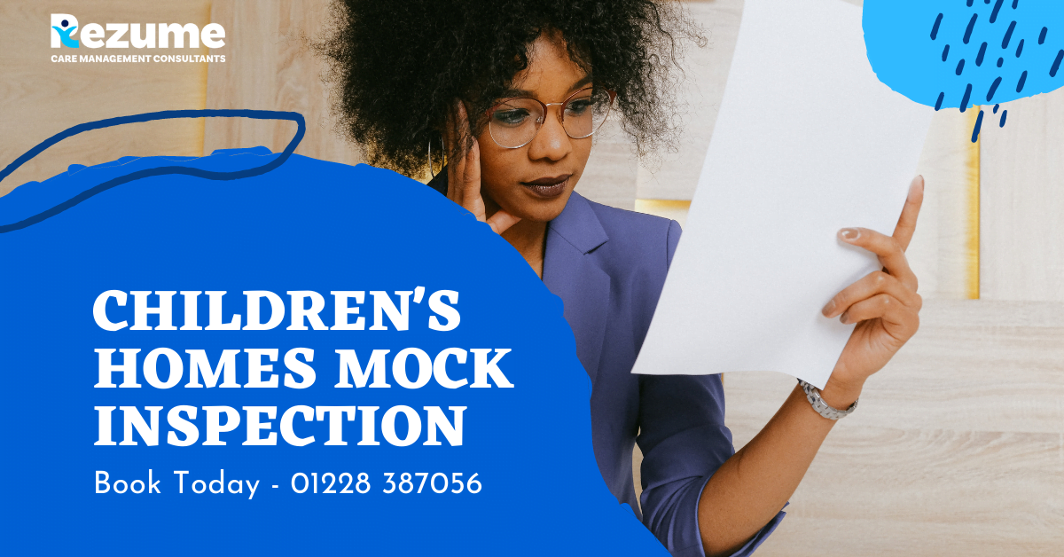 Children's Homes Mock Inspection