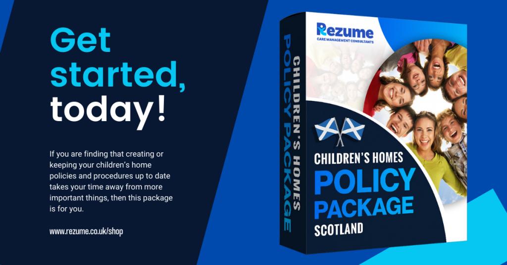 Children's Homes Scotland Policies